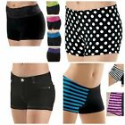 NEW Dance Gymnastics Cheer Black Mini Booty Bar Shorts Child Adult U PICK