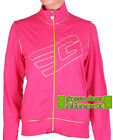 Golddigga Fuschia Pink & Gold Zip Up Track Top Jacket Medium  12 BNWT  Fast Ship