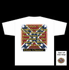DIXIE T-SHIRT SALUTE THE CONFEDERATE FLAG REBEL T-SHIRT P1000