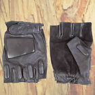VIPER LEATHER TACTICAL FINGERLESS SECURITY GLOVES POLICE PAINTBALL AIRSOFT PCSO