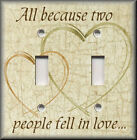 Light Switch Plate Cover - All Because Two People Fell In Love - Home Decor