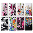 1x New Hard Butterfly Flower Zebra Back Case Cover Skin For Nokia Lumia 800