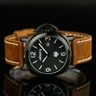 INFANTRY Police Style Army Mens Quartz Numeric Date Army Watch Leather Strap