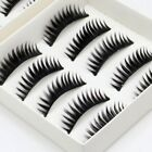 10 Pairs of Thick Natural Fake False Eyelashes Eye Lashes Makeup