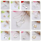 FREE P&P! 925Silver Jewelry Pendant Necklace fits Wedding party xmas gift 18kbox