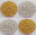 1000pcs Charms Gold/Silver Plated Round Ball Spacer Bead 3mm Jewelry Findings