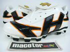 New HATAKEYAMA Pro Softball / Baseball Cleats Mens White Black Orange