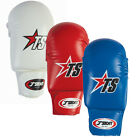 NEW CIMAC T-SPORT PU COMPETITION KARATE MITTS + THUMB ELASTIC PROTECTIVE GLOVES