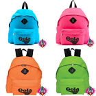 GOLA HARLOW NEON VINTAGE BACKPACK RUCKSACK SCHOOL BAG NEW WITH TAGS