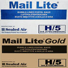 Mail Lite Sealed Air Padded Postal Envelopes / Bags ~ H/5 270mm x 360mm