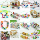 Wholesale Lots Fashion Multi Mixed Charm Loose Beads Fit European Bracelet