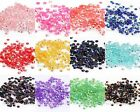 12g Half Round Acrylic Crystal Flat Beads For Craft / Nail Art 3mm 17 Colors,new