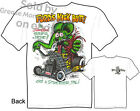 32 Roadster Rat Fink Tee Ford's Kick Butt 1932 Hot Rod T Shirt Sz M L XL 2XL 3XL