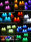 20 SUPERBRIGHT Premium DOUBLE LED Submersible Feather Party Wedding Tea Light