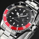 3 Colors Mens Automatic Auto Mechanical Date Stainless Steel Wrist Watch Cool
