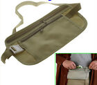 Travel Pouch Hidden Compact Security Money Waist Belt
