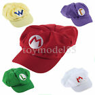 Fashionable and unique 5Colors Luigi Super Mario Bros Cosplay Adult Hat T5