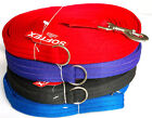 30ft Long Softex® Training Tracking Recall Dog Leads  4 Colours