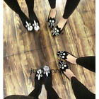 Cute Cat Dog Face Pattern Velvet Womens Flat Shoes Fashion Comfortable Low Heel