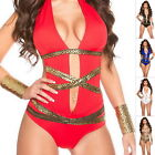 GODDESS Padded One Piece Monokini Swimwear Swimsuit Bathing Suit - S/M/L/XL