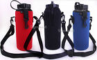 1L/33.8Oz Water Bottle Insulated Neoprene Cover/Storage Holder Carrier Bag Case