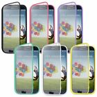 For Samsung Galaxy S4 S IV TPU Wrap Up Case w/ Built in Screen Protector Cover