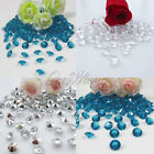 500 Diamond Confetti 8.0mm 2CT Wedding Party Table Decoration Color Hot Sale New