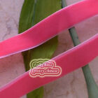 Hot Red Velvet Ribbons Trim Sewing Craft 6mm,10mm,12mm,15mm,18mm,24mm,38mm #15
