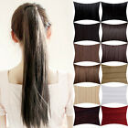 Clip in Ponytails hair extension pieces Premium Quality good-looking hairpiece