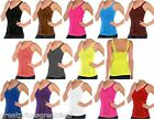 TANKTOP LADIES Mopas WRINKLED CAMISOLE Lace Straps ONE SIZE TWC306 Fits S,M,L,XL