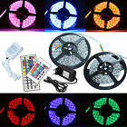 1m-10m RGB LED SMD5050 30/60 LEDs Streifen Strip Band Leiste+Controller+Trafo