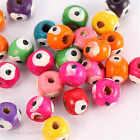 200/1000pcs Wholesale Colourful Wooden Spacer Beads 7x8mm Jewelry Making 8743