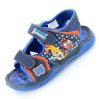 Boys Size 8 - 2 Blue MOSHI MONSTERS Velcro Sandals ROX New Shoes Diavlo