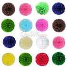 5 Tissue Paper Pom Poms Wedding Babyshower Party Home Decor Favor Color New 8 ""
