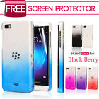 3D RAIN DROP DESIGN HARD CASE COVER For BlackBerry Z10 BB 10 + Film