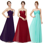 Women's Long Sequin Ever Pretty Party Bridesmaid Evening Formal Gown Dress 09568