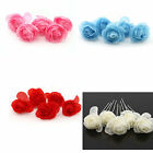 5X Women's Camellia Flower Pattern U Hair Pin Jewelry Hairpin Clip Bob 5Colors