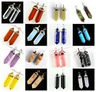 Point Pendulum Chakra Pendant Gemstone DIY Jewelry Accessory wholesale 1.6""