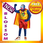 C121 Mens The Muppets Super Gonzo Halloween Fancy Dress Adult Costume