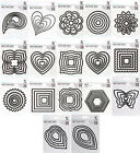 XCut DoCrafts Nesting Dies - Various Shapes and Designs