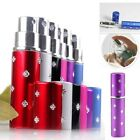 5ml Portable Refillable Perfume Atomizer Empty Bottle Pump Scent Spray Case Hot