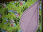 Handmade Double Flannel Baby Toddler Blankets Girls Group 2