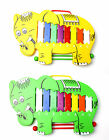Toy Musical Glockenspiel + Beaters- Elephant design Percussion- Perfect for Kids
