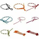 Bluk Wholesale 10pcs MultiWrap Velvet Braided Rope Friendship Bracelet Color Lot