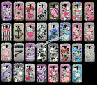 Diamond Crystal Gem Bling Pearl Hard Case Cover For Samsung Galaxy S Duos s7562