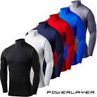 Mens Boys Compression Body Armour Baselayer Thermal Under Top Shirt Skins Gear