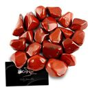 "Crystal Allies Materials: Tumbled 1"" Wholesale Red Jasper Stones - Madagascar"