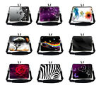 "Laptop Sleeve Bag Handle & Shoulder Strap Fit Asus Dell Toshiba 15"" 15.4"" 15.6"""