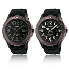 Casio MTD1073-1A1V and MTD1073-1A2V Men's Ion Plated Analog Diver Watches