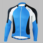 2015 Mens Cycling Bike Bicycle Comfortable Long Sleeve Jersey Shirt Jacket M-2XL